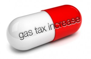 Gas Tax Increase Pill